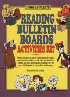 Reading Bulletin Boards Activities Kit