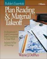 Plan Reading & Material Takeoff