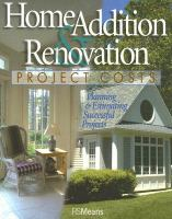 Home Addition & Renovation Project Costs