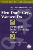 Men Don't Cry-- Women Do