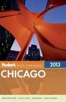 Fodor's 2013 Chicago