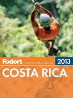 Fodor's 2013 Costa Rica