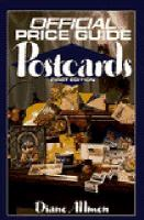 The Official Identification and Price Guide to Postcards