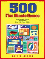 500 Five Minute Games