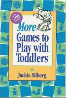 More Games To Play With Toddlers