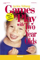 Games to Play With Two-year-olds