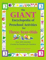 The Giant Encyclopedia of Preschool Activities for Three-year-olds