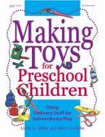 Making Toys for Preschool Children