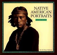 Native American Portraits 1862-1918