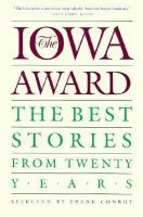 The Iowa Award