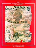 1897 Sears Roebuck Catalogue