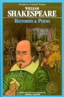 William Shakespeare, Histories & Poems