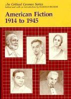 American Fiction 1914-1945