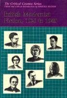 British Modernist Fiction, 1920-1945