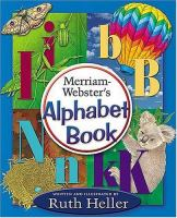 Merriam-Webster's Alphabet Book
