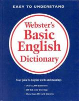 Webster's Basic English Dictionary