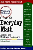 Merriam-Webster's Guide to Everyday Math