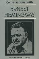 Conversations With Ernest Hemingway