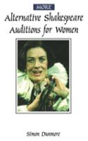 More Alternative Shakespeare Auditions for Women
