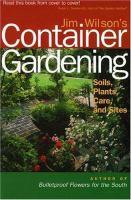 Jim Wilson's Container Gardening