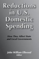 Reductions in U.S. Domestic Spending