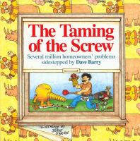 Dave Barry's the Taming of the Screw