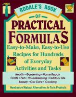 Rodale's Book Of Practical Formulas