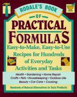 Rodale's Book of Practical Formulas