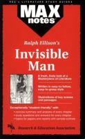 Ralph Waldo Ellison's Invisible Man