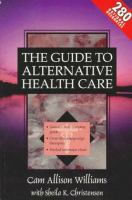 The Guide to Alternative Health Care