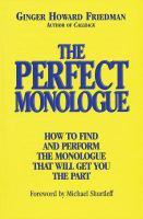 The Perfect Monologue