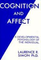 Cognition and Affect