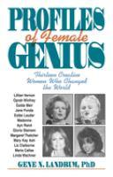 Profiles of Female Genius