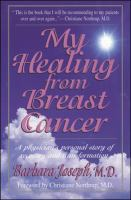 My Healing From Breast Cancer