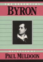 The Essential Byron