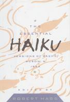 The Essential Haiku