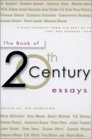 The Book of Twentieth-century Essays