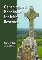 Genealogist's Handbook for Irish Research