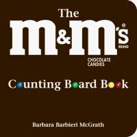 The M&M's Brand Chocolate Candies Counting Board Book