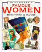 The Usborne Book of Famous Women