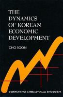 The Dynamics of Korean Economic Development
