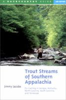 Trout Streams of Southern Appalachia
