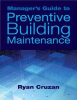 Manager's Guide to Preventive Building Maintenance