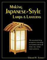 Making Japanese-style Lamps & Lanterns
