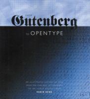 From Gutenberg to Opentype