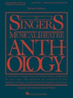 The Singer's Musical Theatre Anthology.  Mezzo-soprano/belter. Volume 1