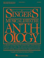 The Singers Musical Theatre Anthology, Duets