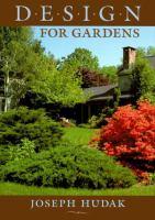 Design for Gardens