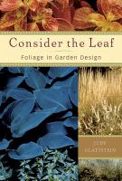 Consider the Leaf