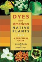 Dyes From American Native Plants